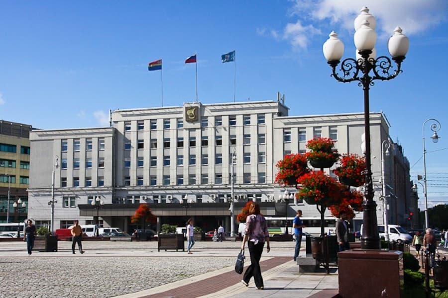 Мэрия г. Калининграда (замена лифтов)