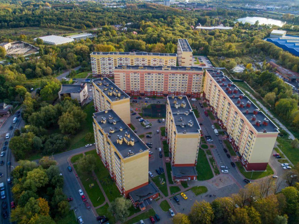 ЖК Московский дворик (г. Калининград, ул. Дзержинского)